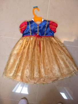 Disfraz Blanca Nieves niñas de 9/12 meses