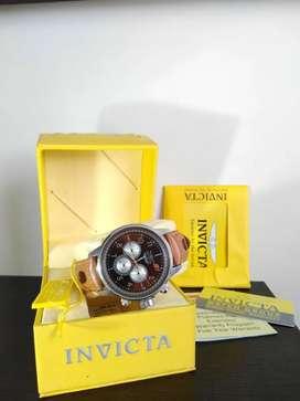 Reloj INVICTA EDICIÓN ESPECIAL CUERO