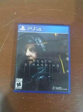 Death Stranding PS4 Casi Nuevo