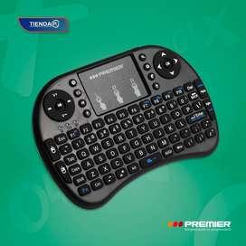 Control inalambrico con control y panel tactil marca Premier