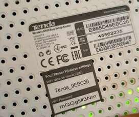 Repetidor Y Router TENDA