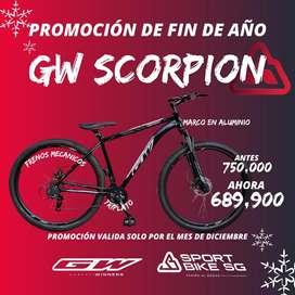 Bicicletas Nuevas En promoción Gw Scorpion rin 29 promoción de diciembre
