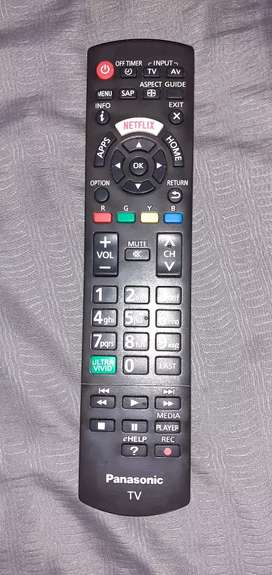 Vendo control Tv Smart Panasonic Original