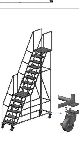 Escaleras Tipo Avion Almacen