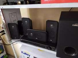 Teatro en casa kalley usb radio Bluetooth auxiliar CD DVD