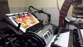 Troqueladora para imprenta