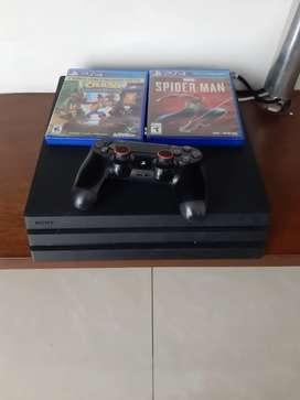 Vendo PS4 pro 1 tera