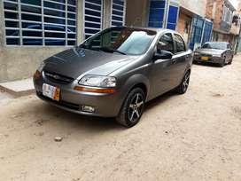 Chevrolet aveo famili 2014 km 67408 único dueño