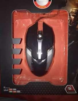 Mouse Gamer 6 botones-luz LED