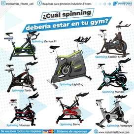 Equipos y maquinas para gym