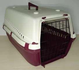 Kennel Transportador Económico L60 (largo 58). No IATA, no avión cm)