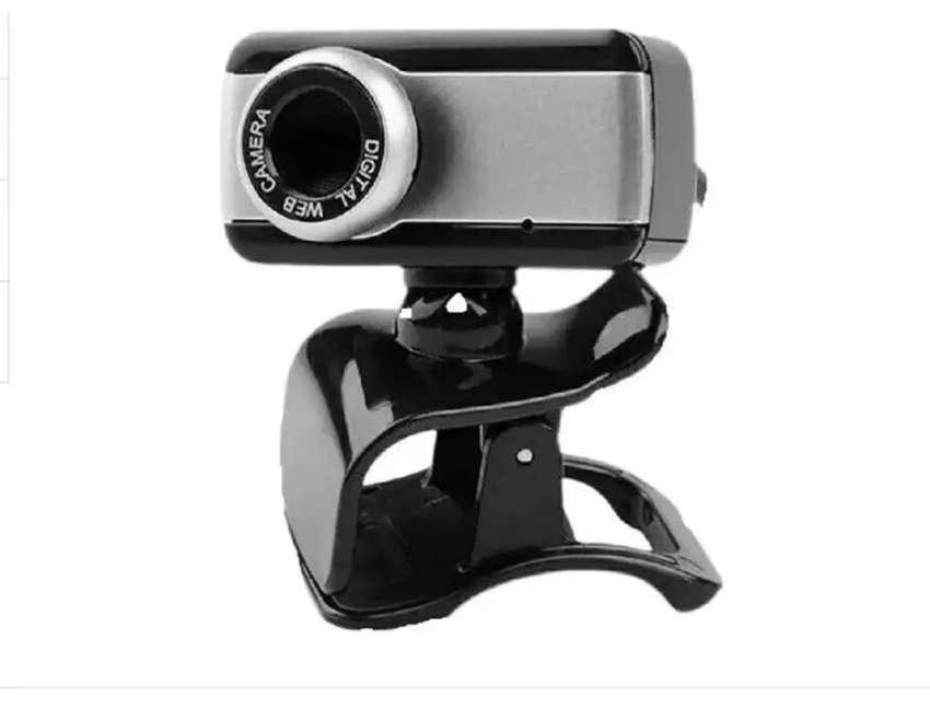 Cámara Web Hd Webcam 480p Usb Mic Cámara Giratoria