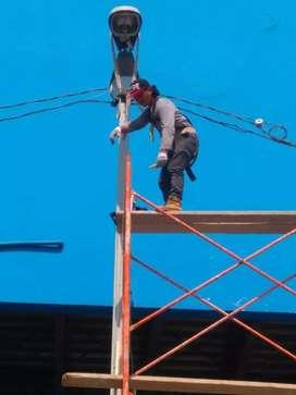 Maestro electricista 110v y 220v todo tipo de trabajo electrico