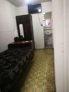 Habitación C/baño wificable terma lavadora Lince S/650
