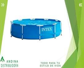 Piscina Armable Redonda Intex 3.05 M X 76 M