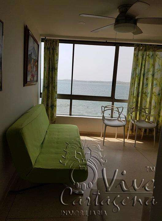 Apartamento con vista al mar cartagena , barrio el laguito. 0