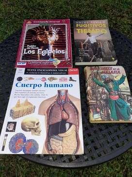 """Libros """"Los Tigres De La Malasia """"Y """"Fugitivos En El Tiempo"""""""
