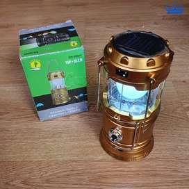 Lampara Solar Recargable Transformeer Linterna Panel Energía
