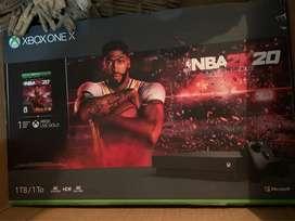 Xbox one X Completamente Nuevo
