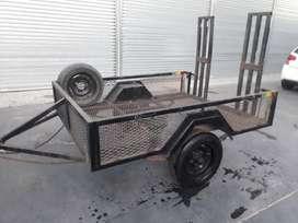 Se vende carro/trailer/ batan para cuatri