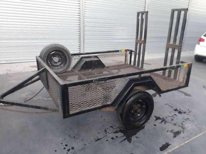 Se vende carro/trailer/ batan para cuatri 0
