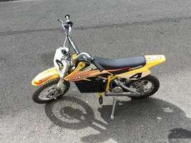 Motocicleta Razor Mx650 Electrica En Muy Buen Estado‼️