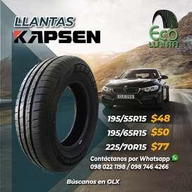 Llantas Kapsen 195/55 R15 /  195/65 R15 / 225/70 R15