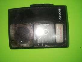 grabadora SONY FAST PLAYBACK