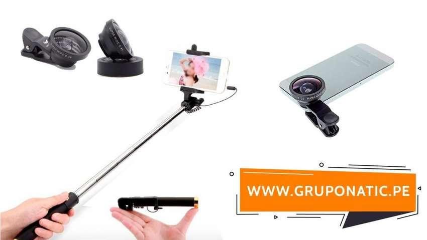 Monopod Para Celular lente Super Wide 0,4x Gruponatic San Miguel Surquillo Independencia La Molina 941439370 0