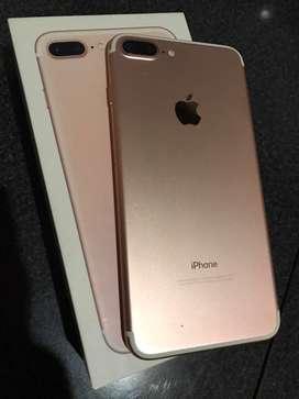 Iphone 7 plus de 32gb impecable!