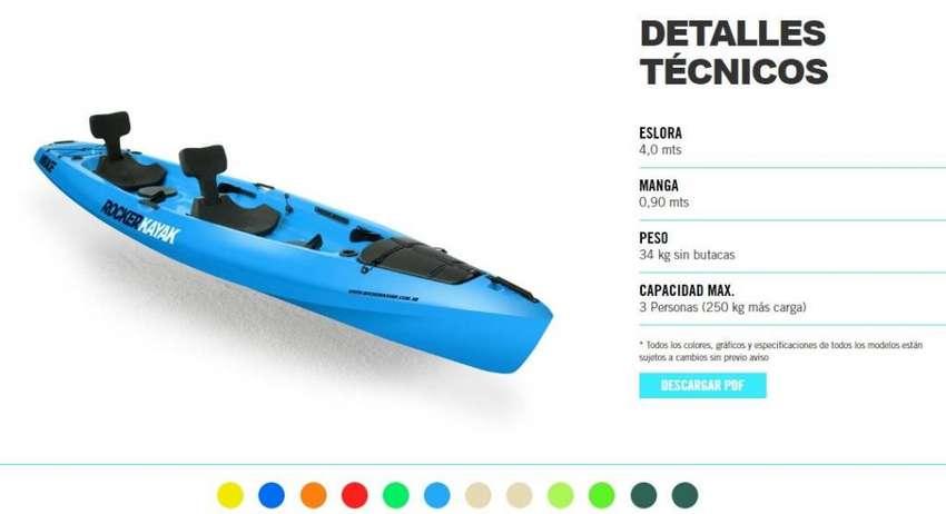 Rocker Kayak MIRAGE -  12 Cuotas Fijas de $ 3280  con Visa ó Master 0