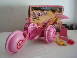 Barbie Triciclo Playero Splash, Top Toys, Mattel 1987 Ind.Argentina