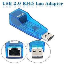Adaptador Usb A Rj45 Lan Red Ethernet Windows (442)