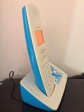 Telefono inalambrico con pantalla y varios Tonos