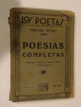 Poesías Completas de Gervasio Méndez