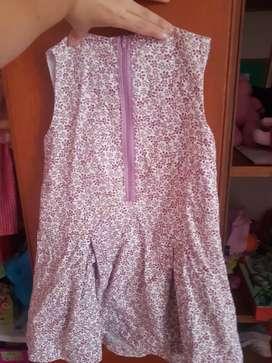 Vestido niña 6T epk