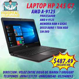 Laptop Hp 245 G7 AMD