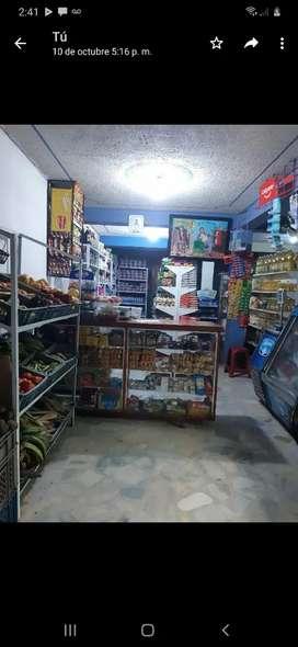 Vendo tienda ubicada en el tulio varon