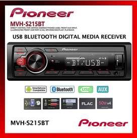 Pioneer Mvh S215bt Bluetooth Usb Bt Mixtrax Aux Radio Carro SMARTPHONE RCA noCD Nuevo Garantìa Scp1