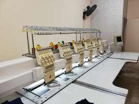 Bordadora Industrial 6 Cabezas