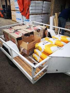 Fletes generales muebles. Motos. Materiales de construcción. Aux. Motos