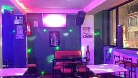 Bar karaoke remato menaje