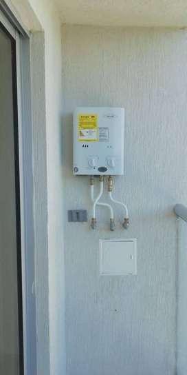 Venta y mantenimiento de calentadores de agua a gas