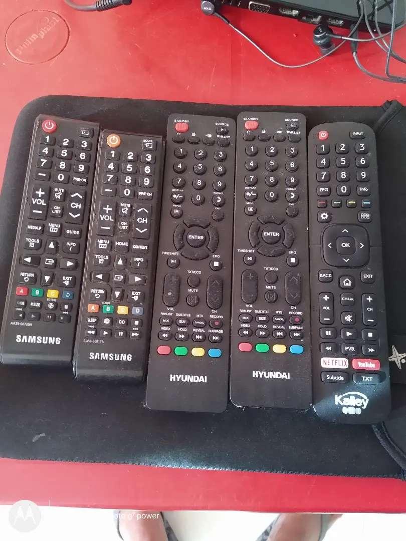 Controles originales para tv y Smart tv