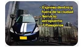 Servicio fe transporte dentro y fuera de la ciudad