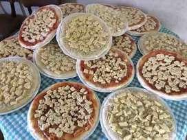 pizzas listas milanesas viandas empanadas servicio de lunch pre pizzas