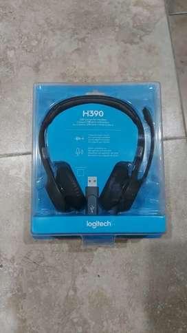 Diadema Logitech H390 Nueva