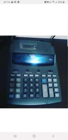Calculadora con impresora nuevas