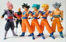 Set Figuras Colección 18 Cm X6 Dragon Ball Super $59.990