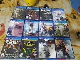 Juegos PS4 usados en perfecto estado